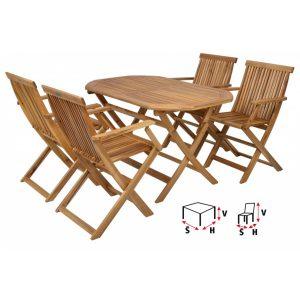 HECHT BASIC SET 4 - Set záhradného nábytku